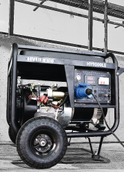 Generador Eléctrico Gasolina o Diésel Hyundai