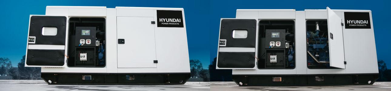 Grupos Electrógenos Diésel Hyundai