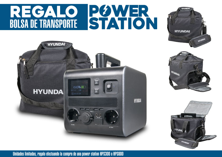 Regalo bolsa de transporte power station